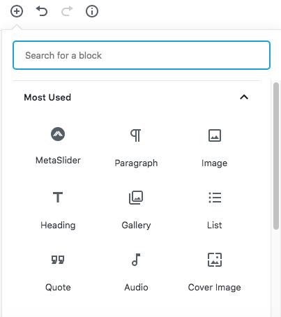 MetaSlider introduces 'slider blocks' for Gutenberg